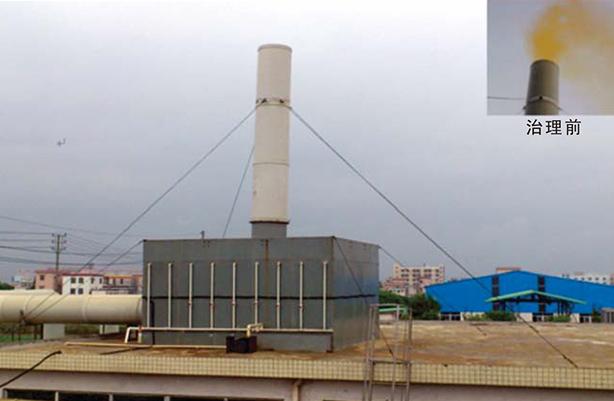 五金、铝氧化、电镀及线路板行业黄烟酸雾治理工程
